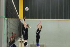 Volleyball Damen - 2013   Spiel gegen Großrudestedt