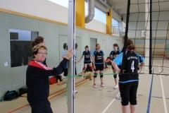 Volleyball Damen - 2015  Spiel  gegen Creaton Großrudestedt